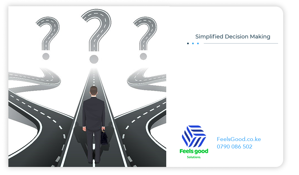simplified decision making by managers
