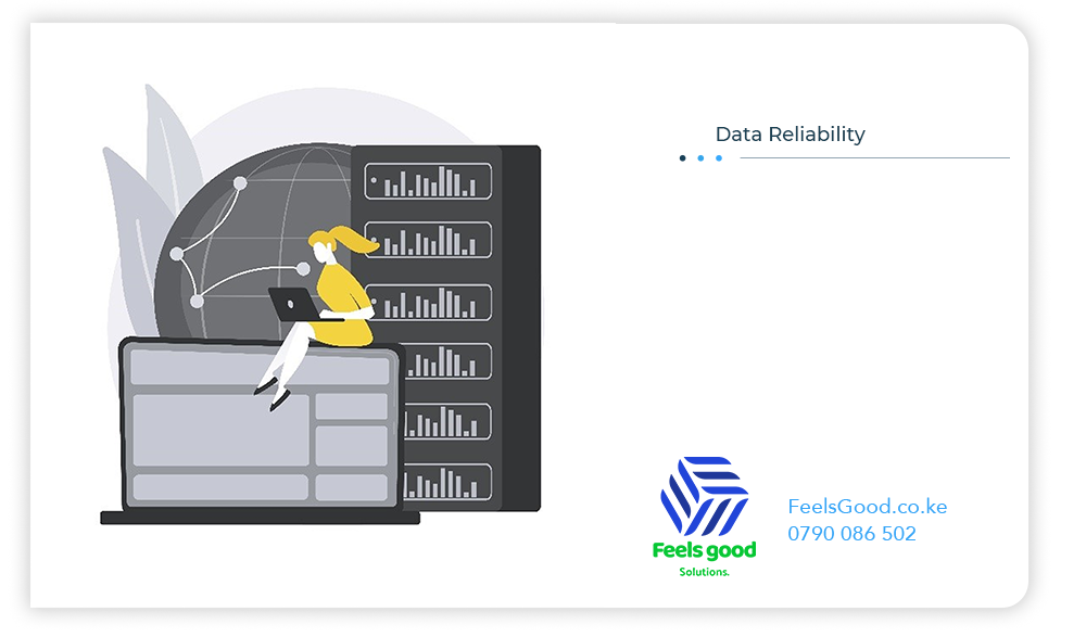 data is easilly available and reliable