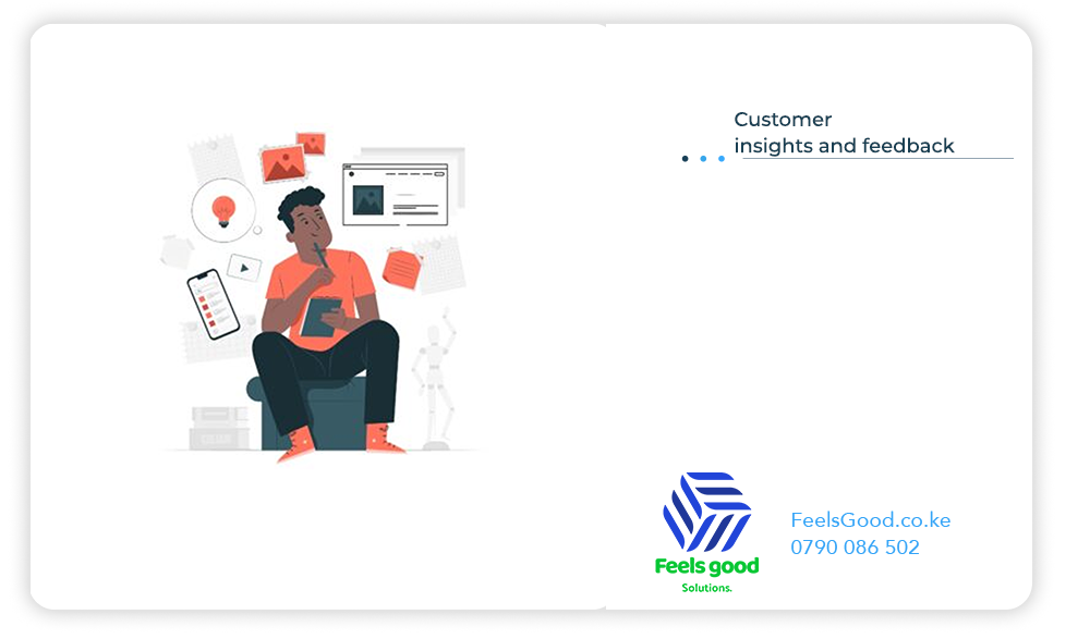 get customer insights from your website
