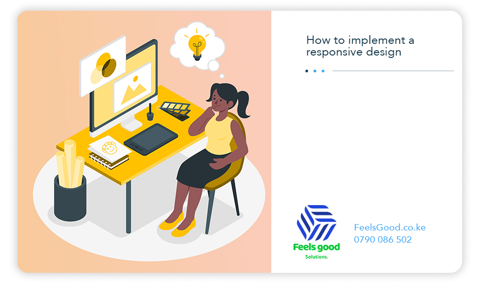 How to implement a responsive design